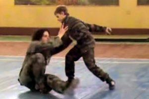 рукопашный бой юниоров