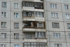 труп на балконе