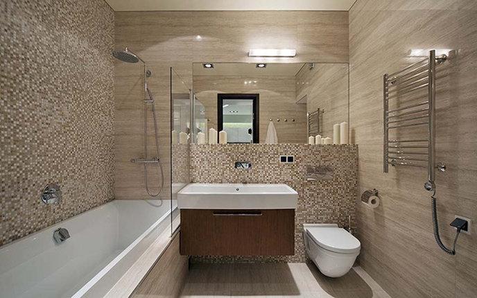 Отделка ванной комнаты - альтернатива полной реконструкции ванной